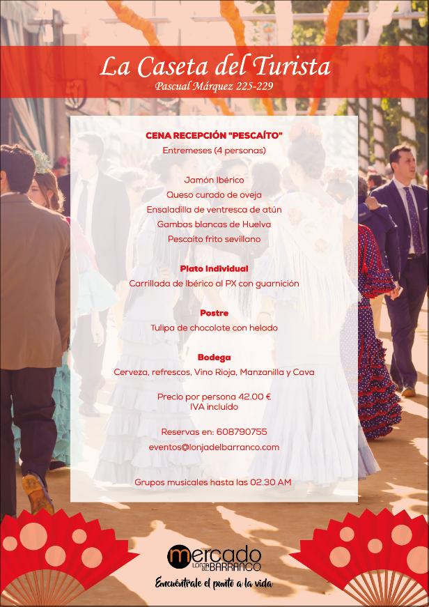 El Mercado Lonja del Barranco te invita a la Feria de Abril